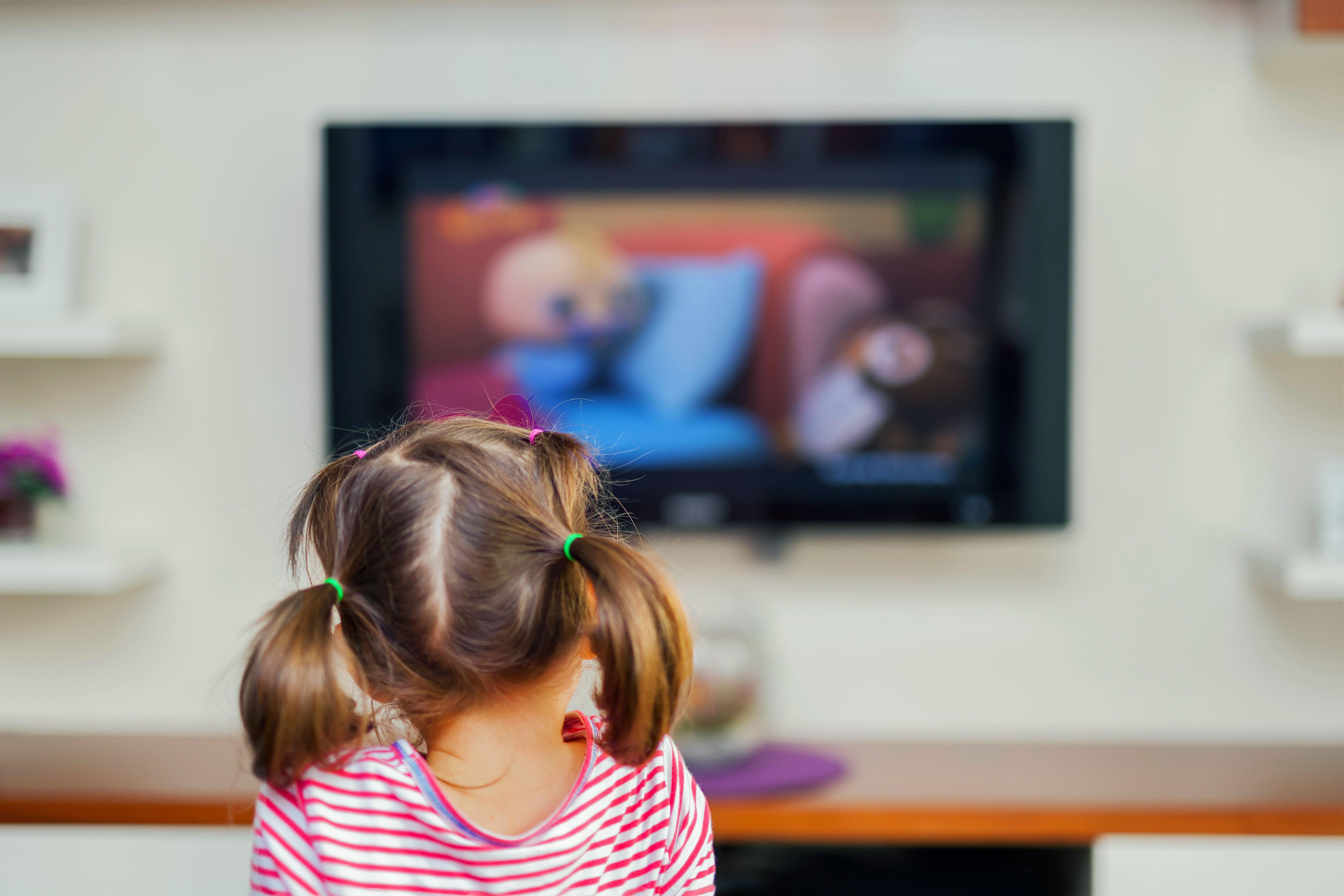 Child using screen technology