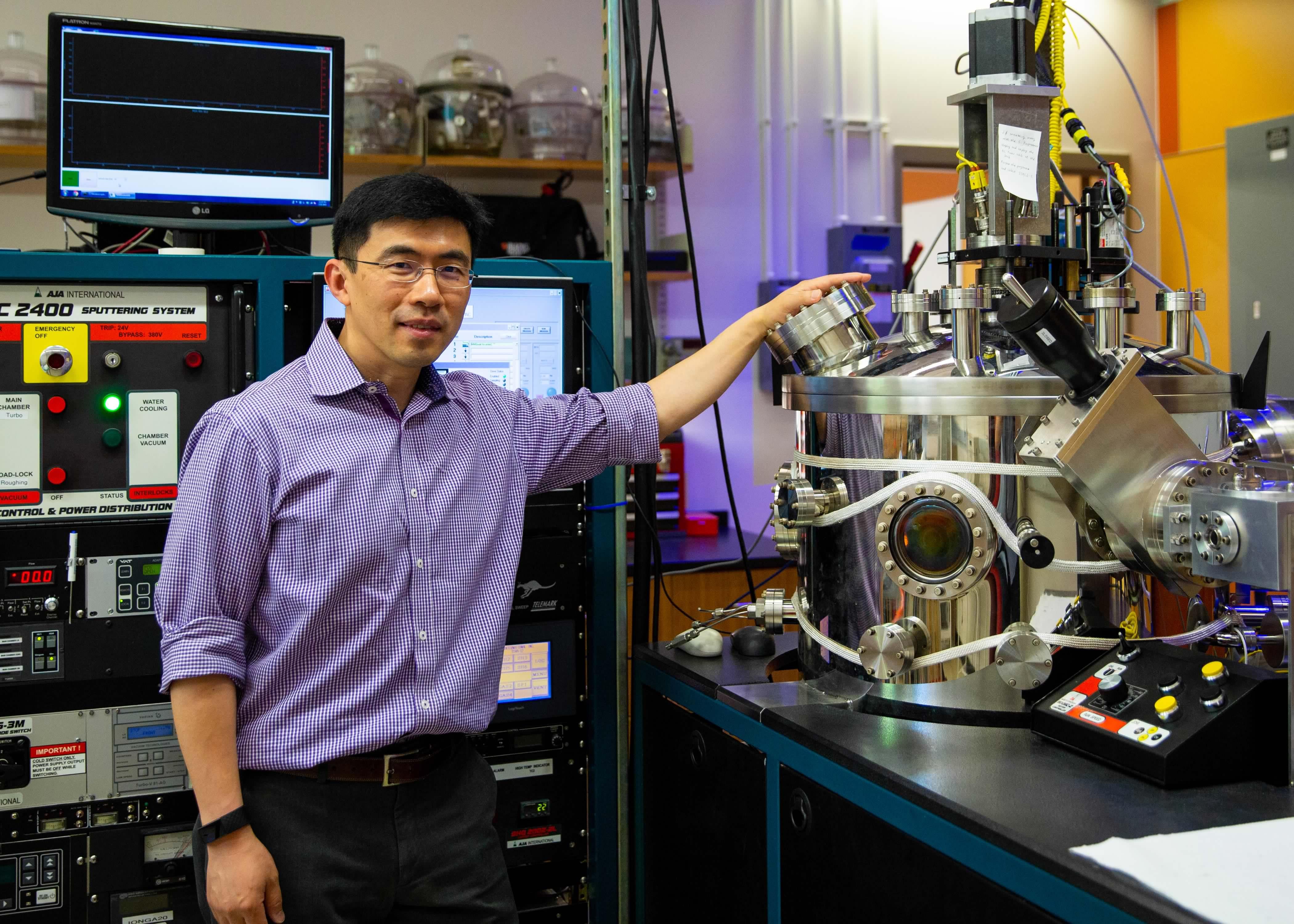 Kai Liu in Lab