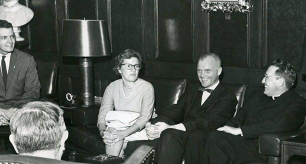 Vera Rubin with Astronaut John Glenn