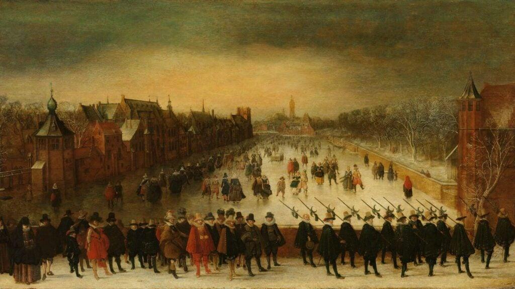 painting of dutch republic