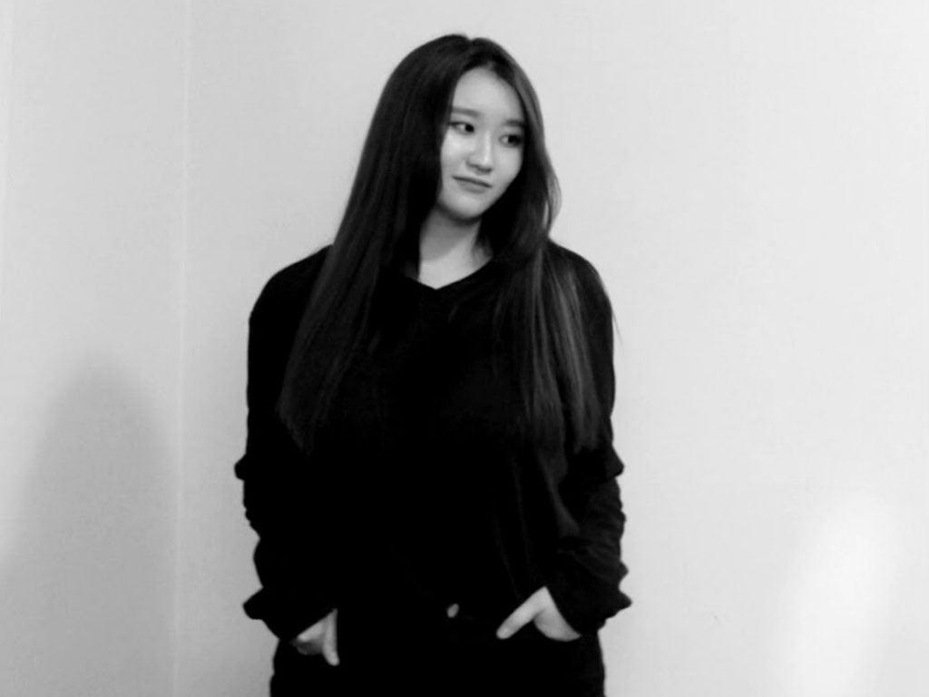 black and white headshot of Irene Chun